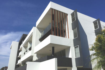 Gymea Quattro Apartments acrylic render project